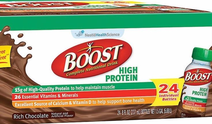 24 BOOST High Protein Drink Chocolate Diet Weight Loss Nutritional Healthy Meal #Boost