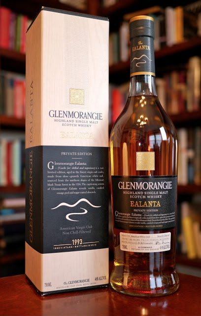 The Glenmorangie Ealanta Single Malt Scotch Whisky