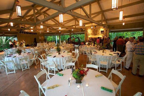 Rock City Group Pavilion Perfect For Wedding Receptions