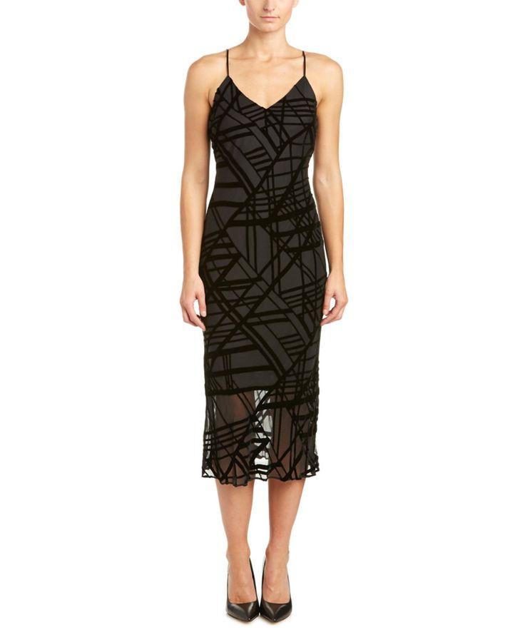 ANDREW MARC ANDREW MARC SILK-BLEND MIDI DRESS'. #andrewmarc #cloth #dresses