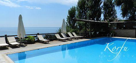 Die 5 geräumigen Korfu-Ferienwohnungen Ocean Apartments bieten einen gepflegten, luxuriösen Korfu-Urlaub für 2-4 Personen und einen fantastischen Meerblick.