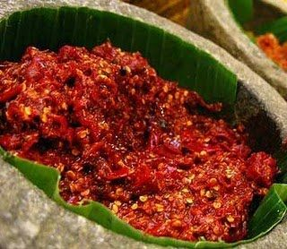 sambel goreng terasi....mak jleeb #Indonesian #food INDONESIAN FOOD INDONESIAN CUISINE