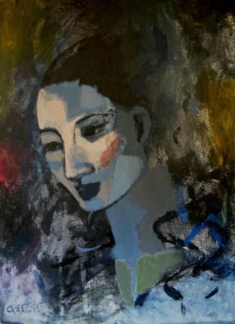 Paintings - GENTLE - AN ORIGINAL PAINTING BY CELESTE FOURIE-WIID for sale in Hermanus (ID:281417358)