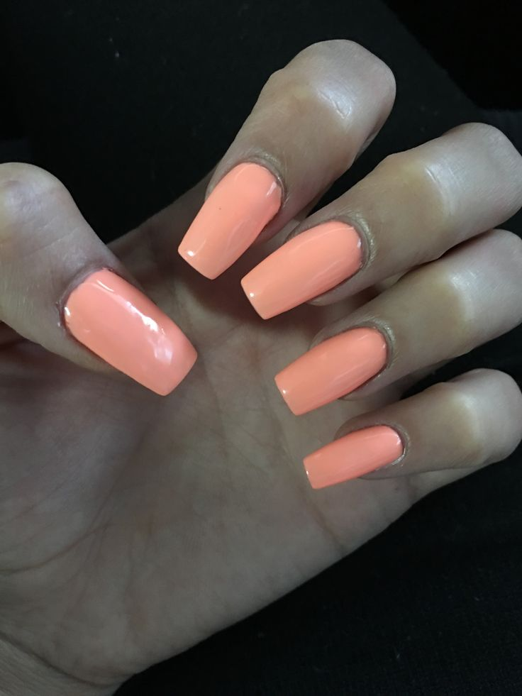 Coffin Nails Perfect For Summer