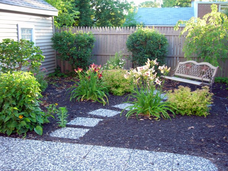 19 best Front yard no grass images on Pinterest on Small Backyard Ideas No Grass  id=95086