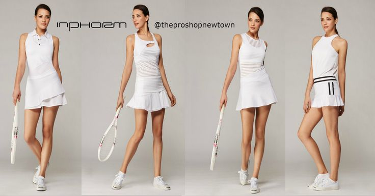 Loving the Wimbledon whites... you'll be loving our 7/1 arrival from inPhorm (available in white or black), now @ The Pro Shop of Newtown location. #inphorm #wimbledon