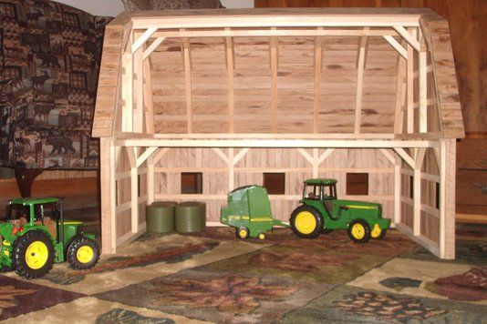 Custom Made Wooden Toy Barn #2