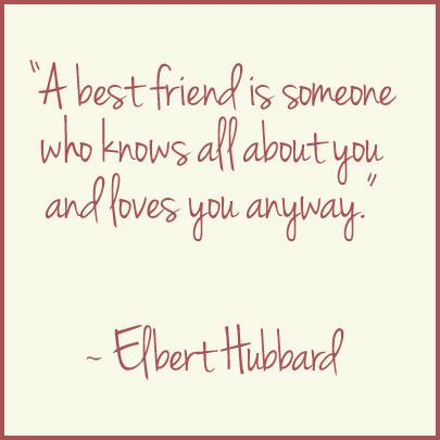 Words of Wisdom | A bestfriend lifequote