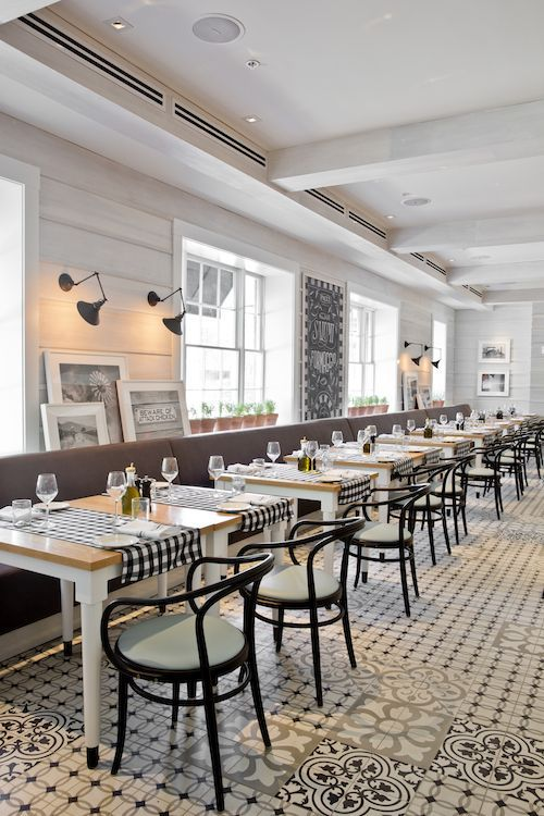 Pacci Italian Kitchen & Bar - New favorite Savannah restaurant: killer modern Italian food and wonderful service (and the black and white décor is spot on):