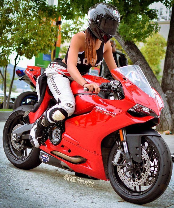 Ridezza - Elite Biker Apparel | Bike Queens | Pinterest | Bikers, Biker girl and Ducati