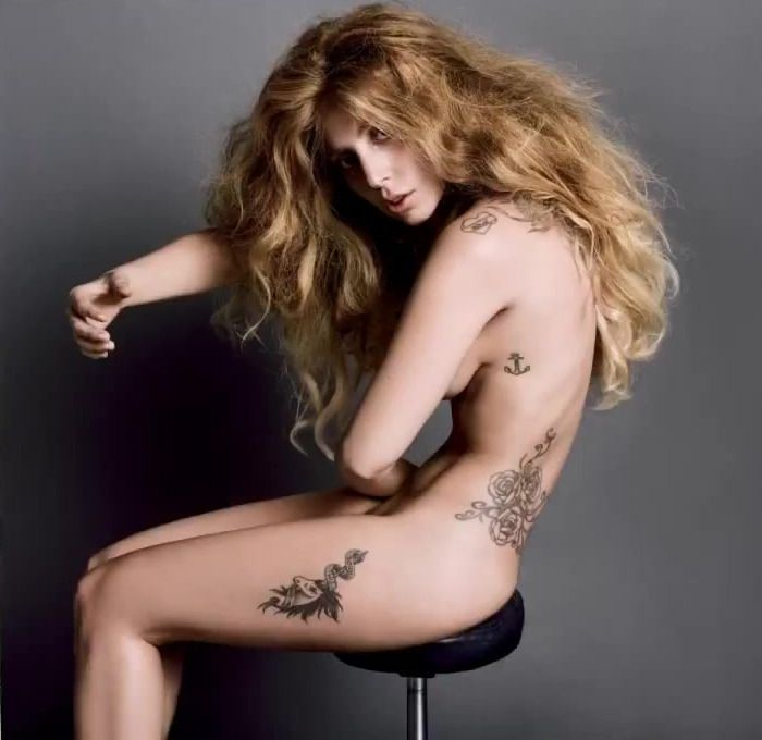 Lady Gaga Nude Topless With Pasties And Maliabeth Johnson Hot Doggystyle