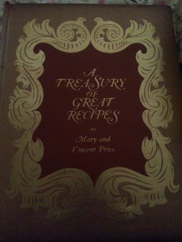 Mary and Vincent Prices Come into the Kitchen Cook Book