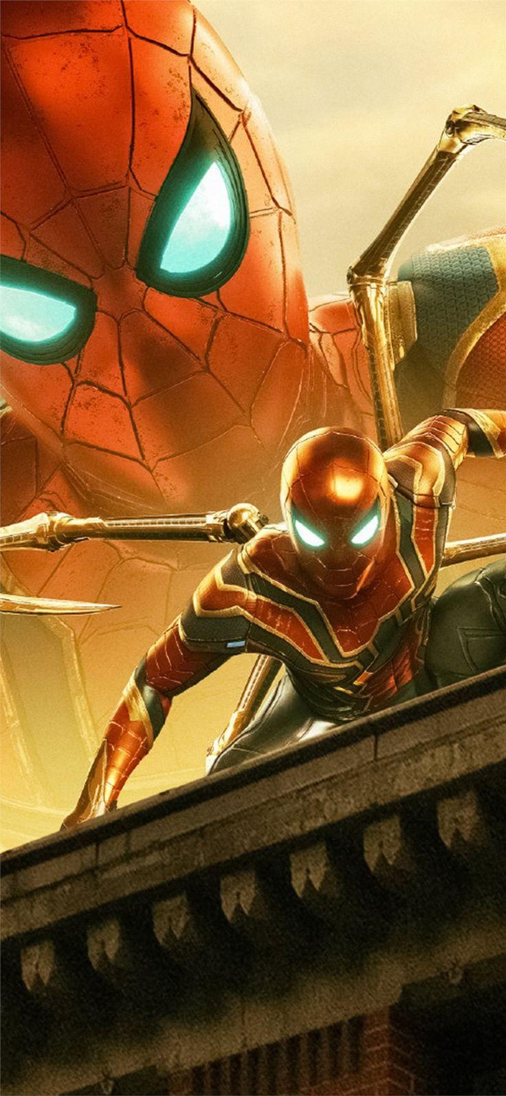 4k spiderman far fromhome iPhone 11 Wallpapers Arte de