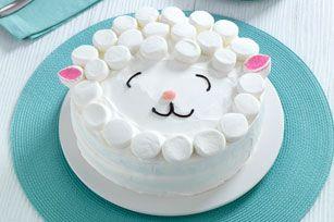 Gâteau «mouton» éclair                                                                                                                                                                                 Plus