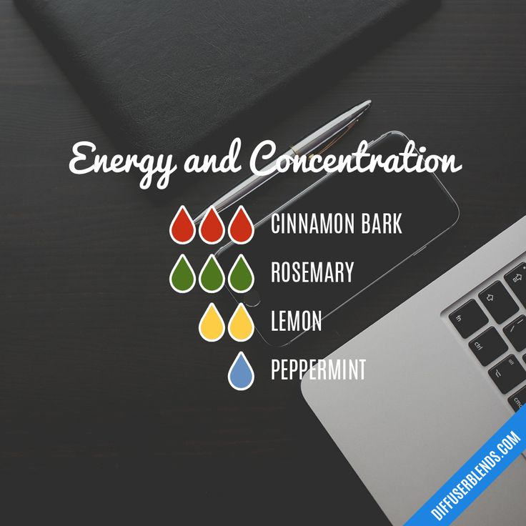 Energy and Concentration Essential Oils Diffuser Blends ••• Buy dōTERRA essential oils online at www.mydoterra.com/suzysholar, or contact me suzy.sholar@gmail.com for more info.