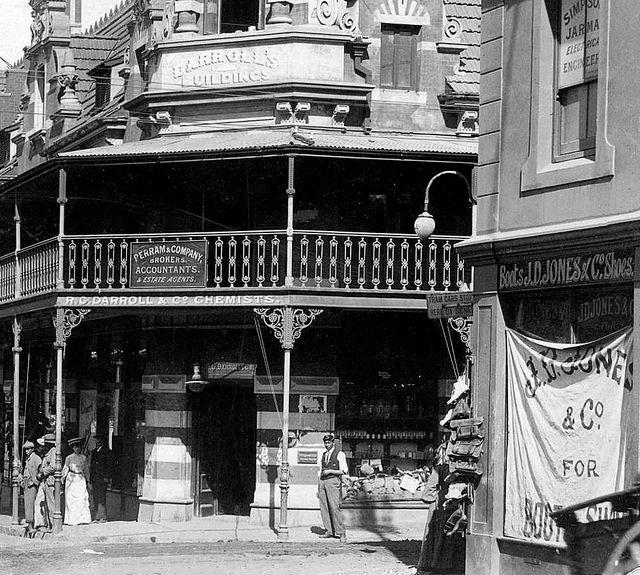 Darroll's Buildings, Wynberg c1900. by Etiennedup, via Flickr
