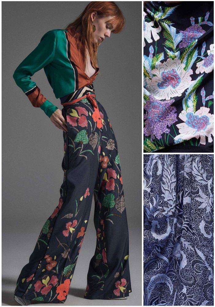 New York Fashion Week Print & Pattern Highlight: RTW Spring/Summer 2017 – Diane von Furstenburg