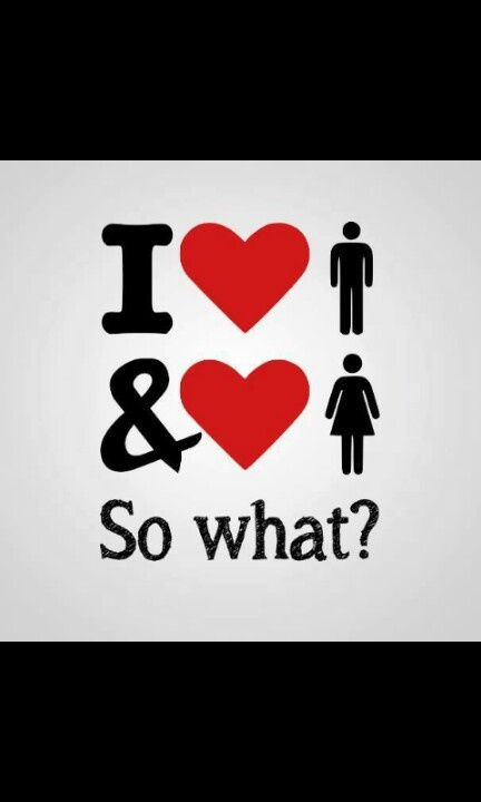 So What?? #bisexual/pansexual.... I'm subject to twice the jealousy because I'm attracted to everyone, and my partners know that.