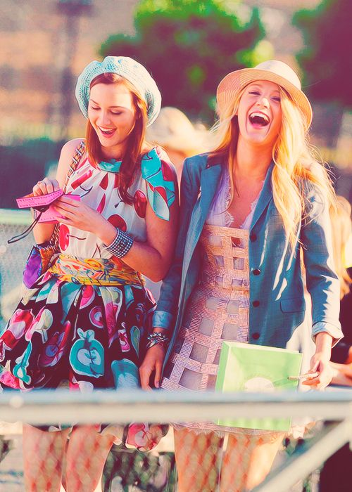 two girls who tackle everything #together #gossipgirl