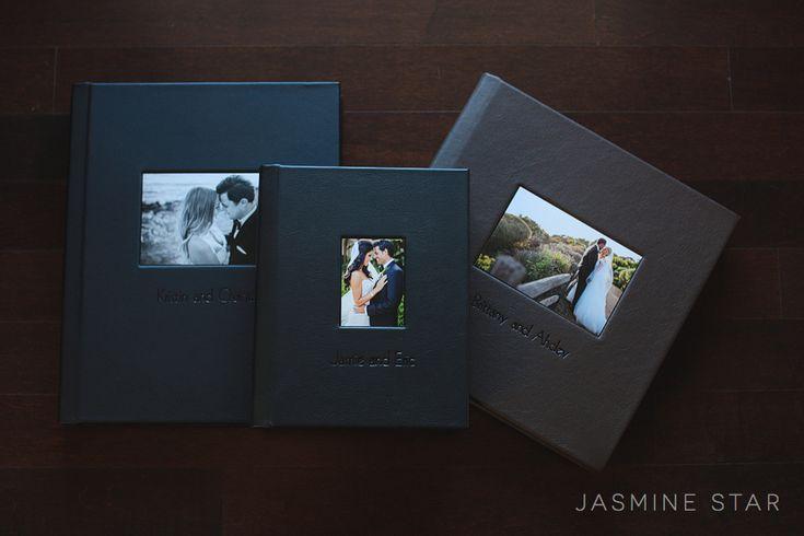 Wedding Albums : Leather Craftsmen - Jasmine Star Blog
