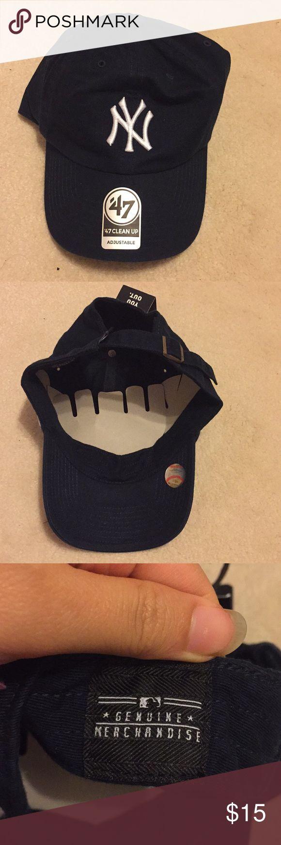 New York Yankees baseball cap Official MLB merchandise. Brand new navy blue New York Yankees baseball cap 47 Other