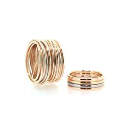 Rose gold wedding rings: The rings that you'll wear the rest of your lives can be anything, because you already are more than a matching pair. Design by Bertie Hamers for bofb®.