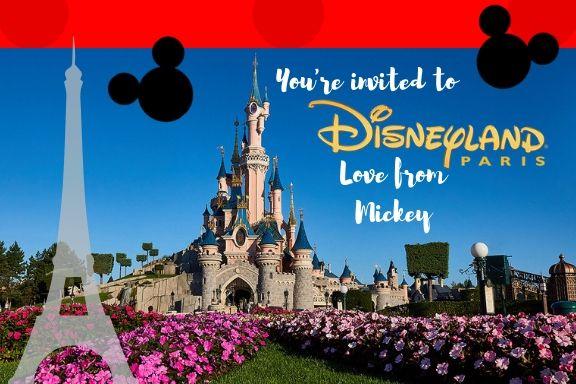 Free Printable Disneyland Paris Reveal Ticket Magic Disney