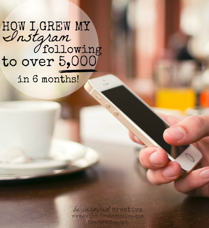 How I grew my Instagram following to over 5,000 in 6 months! Tips, tricks, and secrets to get niche targeted followers on autopilot. @sararaehughes