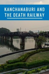 Kanchanaburi And The Death Railway.  For an off-the-beaten-path destination in Thailand with plenty of history and some authentic charm, check out Kanchanaburi.  Make sure you visit Hellfire Pass and ride the Death Railway. #kanchanaburi #thailand #offthebeatenpath #SEAsia #SoutheastAsia #SEA #deathrailway #WWII