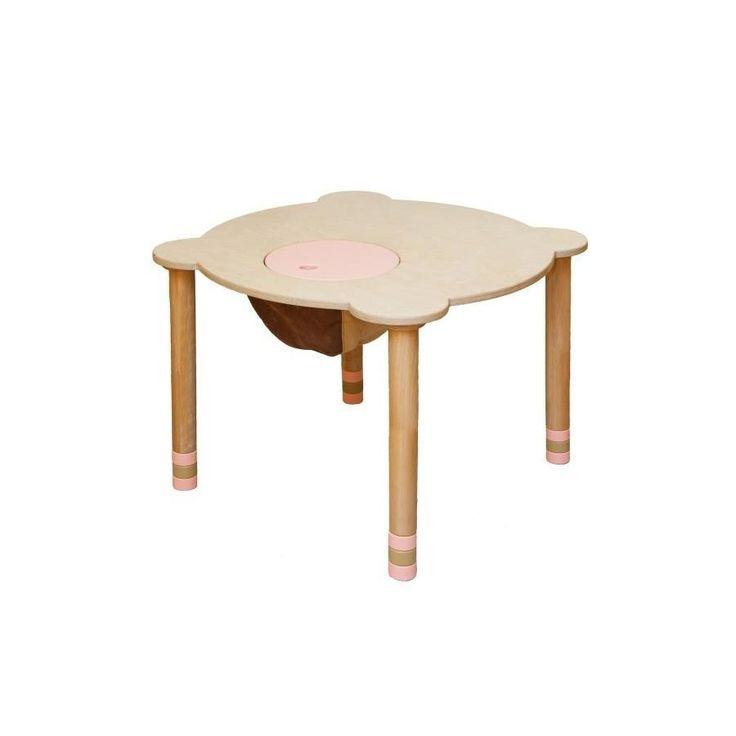 Indigowood Стол круглый розовый/натуральное дерево (29704) купить в интернет-магазине – цены, отзывы, фото, характеристики – Hotline