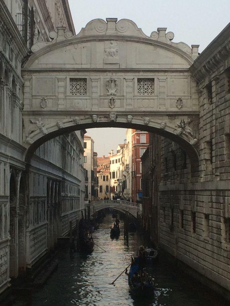 Bridge of 'Sighs' Venice