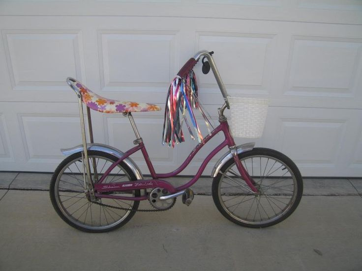 girls original banana bike (All the girls begged for one of these)