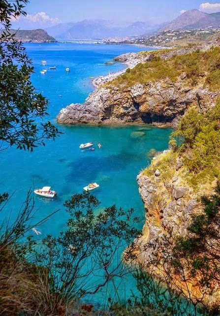 Tyrrhenian Sea ~ San Nicola Arcella, Calabria, Italy