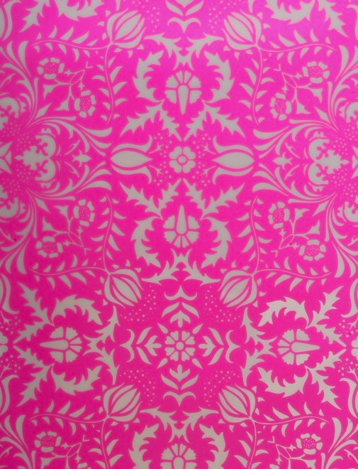 Dauphine Electric Raspberry Damask Wallpaper For The Home Pinterest Damasks And