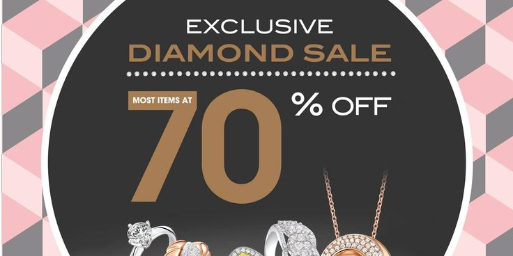 SOO KEE Jewellery 4 Days Exclusive Diamond Sale 70% Off Promotion 28 Apr - 1 May 2017