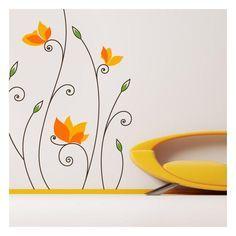 Quieres darle un toque de frescura y originalidad a la decoración de interiores ?. En Vinilos Casa ® te proponemos este eclusivo vinilo decorativo floral, con el que podrás darle un toque de originalidad a la decoración de paredes.