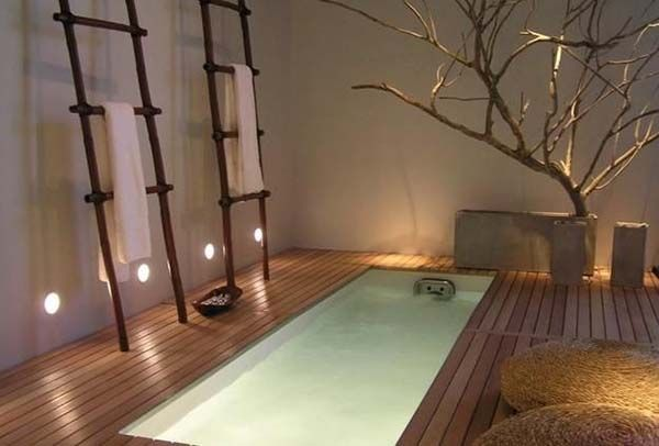Beautiful use of wood in this asian inspired bathroom design ideas inspiration bathtub