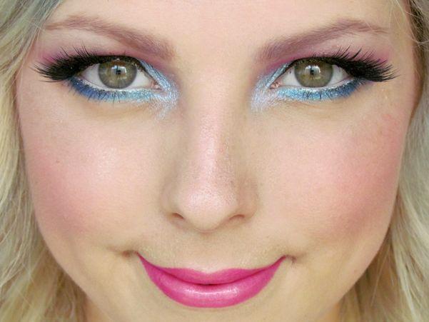 Halloween: Malá Mořská Víla / Little Mermaid Makeup Tutorial http://getthelouk.com/?p=3299