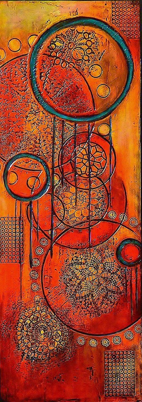 Embers by Brenda Patel SOLD
