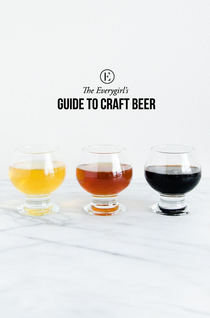 A guide to #craftbeer // Everything from how it's made to what pairs best with what food #theeverygirl #beer