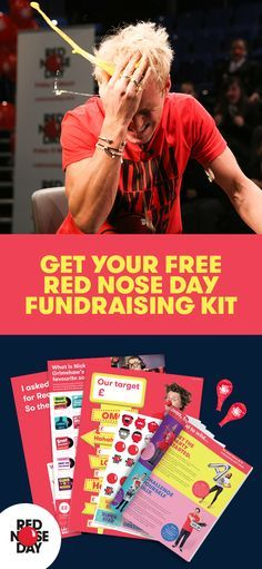 Red Nose Day is back! Join in and make the world a better place on Friday, 24th March. Order a free Fundraising Kit, full of ideas, tips and materials that will make this your best fundraising year yet. Whether you host a bake sale, get sponsored to dye your hair or bring a swear jar to work – there's sure to be an idea that suits you. Get your free kit today on the Red Nose Day website.