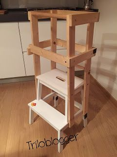 Triloblogger: Scaletta Montessoriana (Learning Tower)