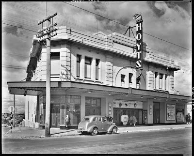 The Waratah cinema, Ascot Vale - History stoid at corner of Mt Alexander and Ormond Roads - Melbourne Flemington Ascot vale moonee Ponds heritage
