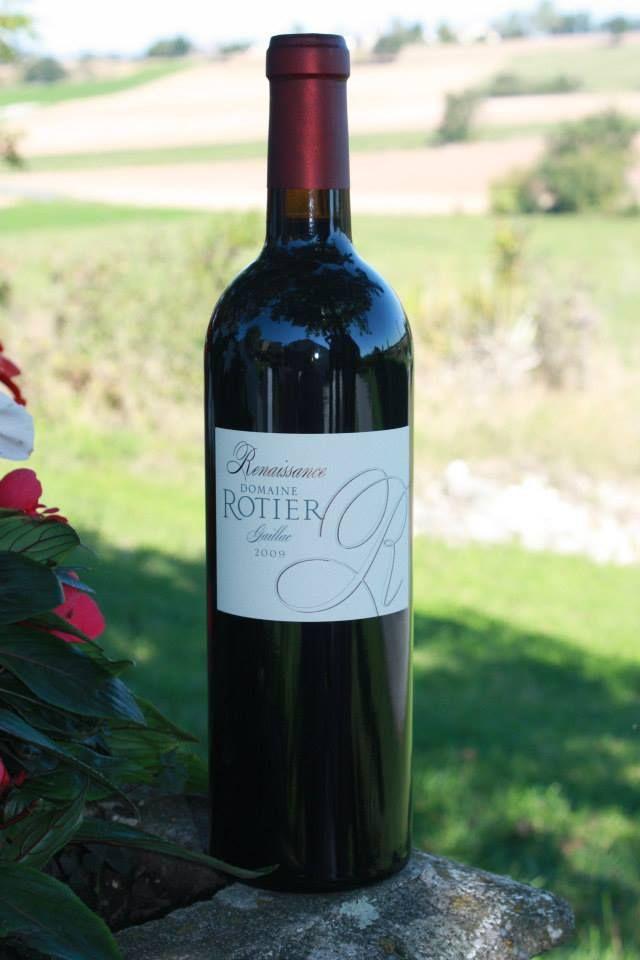 Domaine Rotier, Renaissance, red wine,  AOC Gaillac.
