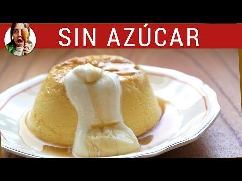 Otra opción para los que no pueden comer azúcar: flan con Stevia! | Cocina