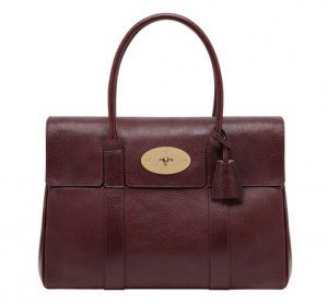 Cheap 2015 Mulberry Bags Outlet- Mulberry Bayswater in oxblood Natural Leather