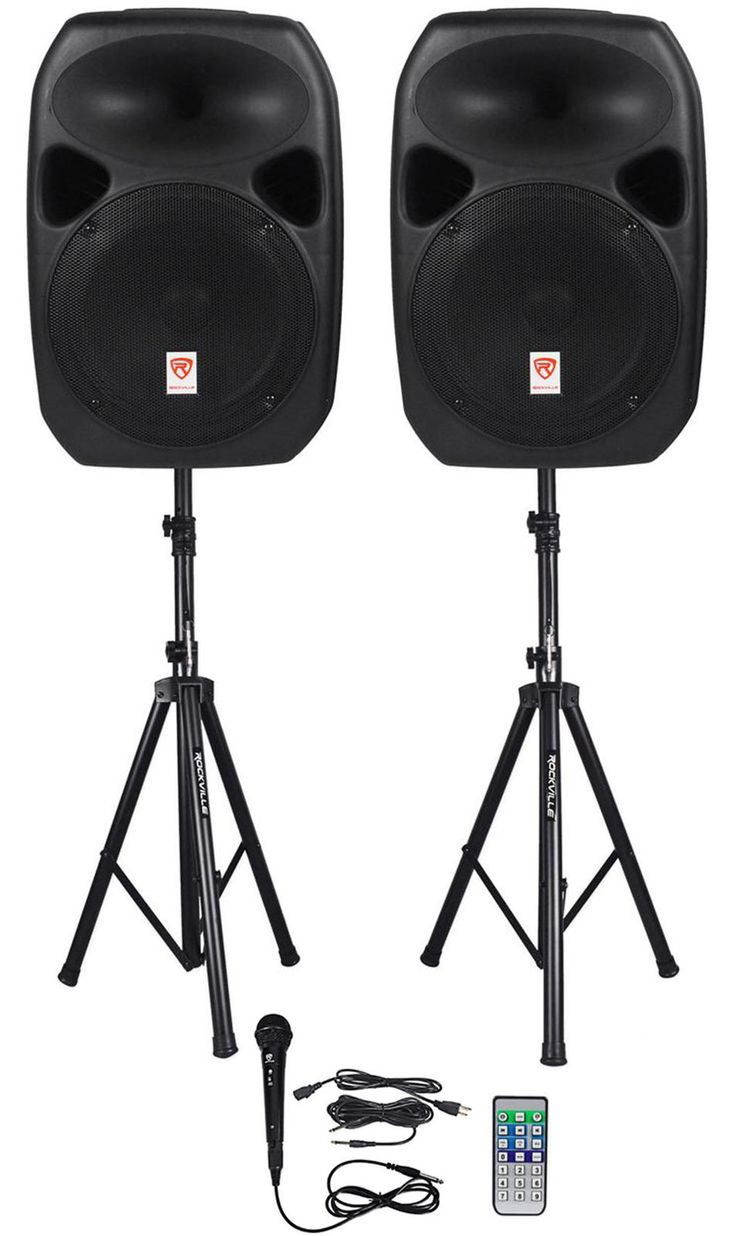 "Car Audio & VideoPro AudioMarine AudioLighting Karaoke Home/Portable Audio Rockville Power GIG RPG-122K 1,000 Watt All In One DJ/PA Package (2) 12"" DJ... #speaker #stands #cables #bluetooth #speakers #dual #powered #rockville"