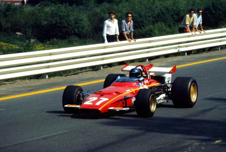 Belgique 1970 Jackie Ickx Ferrari 312B