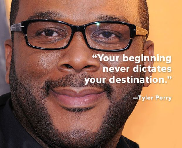 Tyler Perry quote of wisdom!