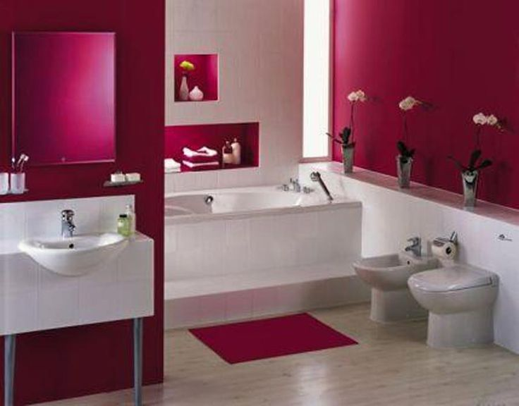 89 best images about Pink Bathrooms on Pinterest Wall tiles